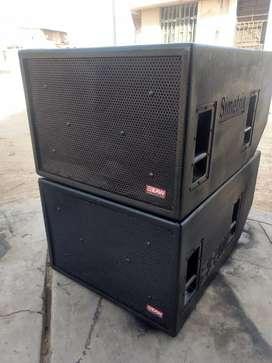 Caja acústicas orijinales
