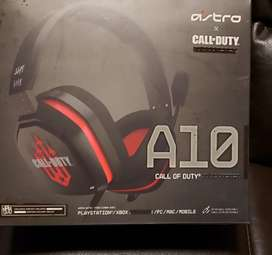 Audifonos gamer marca Astro versión CALL OF DUTY