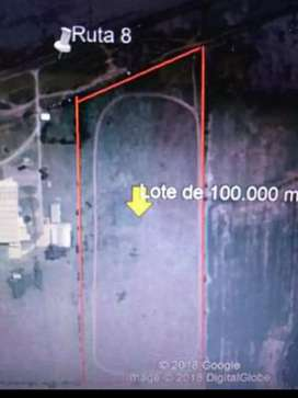 Lote de grandes dimensiones 101.700 mts