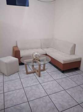 Juego de sala , muebles.