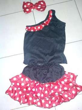 Vestido de negrita talla 4