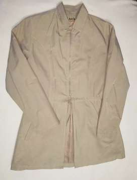 Gaban Beige para mujer impermeable Talla S