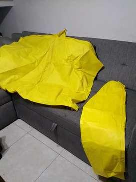 Impermeable Nuevo Pantalón y Capa