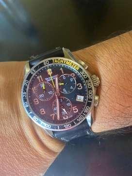 Reloj Victorinox Cronografo Acero y cristal Zafiro