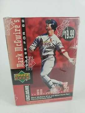 1998 Upper deck  Béisbol  Mark McGwire's Chase para 62 Juego De Cartas Coleccionables - 30 Tarjetas