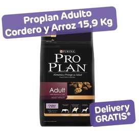 Proplan Adultos cordero y arroz 15,9 kg
