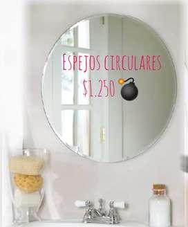 Espejos circulares Ofertón.