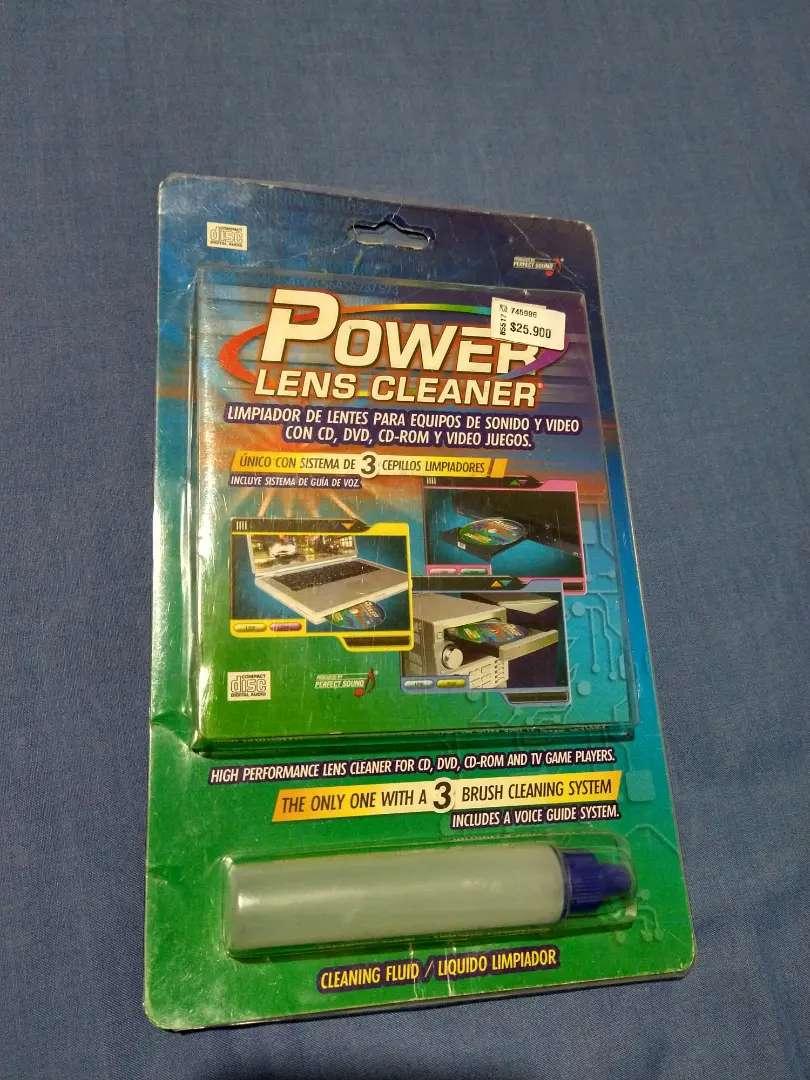Power lens cleaner limpiador de lentes para equipos de audio y vídeo