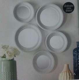 Set De Espejos Circulares, Belia Nuevo