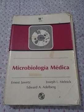 MICROBIOLOGIA MEDICA 11 EDICION JAWETZ . MELNICK Y ADELBERG 1985