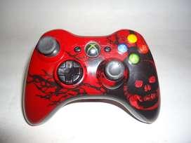 Control Xbox 360 edicion Gears of War 3 edicion limitada