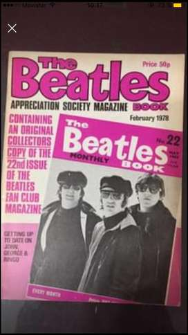 The beatles book monthly numero 22 Febrero 78 incluye numero 22 de mayo 65 art en cap federal