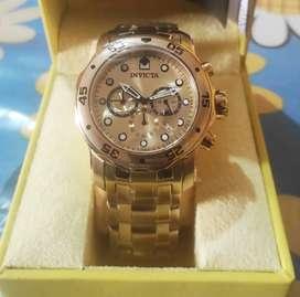 Reloj Invicta Gold Pro Diver 48mm