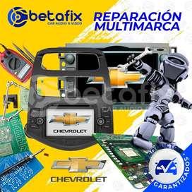REPARACIÓN RADIOS DE AUTO ORIGINALES CHEVROLET BETAFIX DESDE