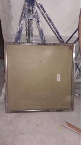 Tapa Camara Super Reforzada 60x60 Filete Acero