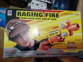 Pistola disparadora de juguete. Raging fire