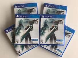 FINAL FANTASY VII exclusive PLAYSTATION