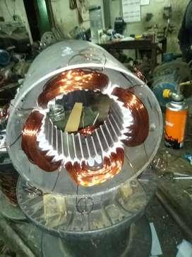 Reparación de  bobinados de motores eléctricos monofásicos y trifásicos consultar presupuesto