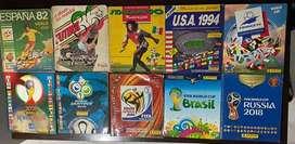 Colección Albumes Panini 1982-2020
