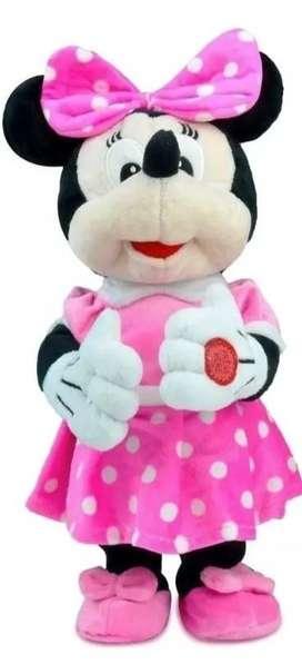 Peluche Minnie Mouse Musical Y Baila Niña Regalo