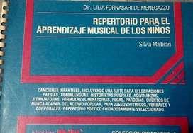REPERTORIO PARA EL APRENDIZAJE MUSICAL PARA NIÑOS