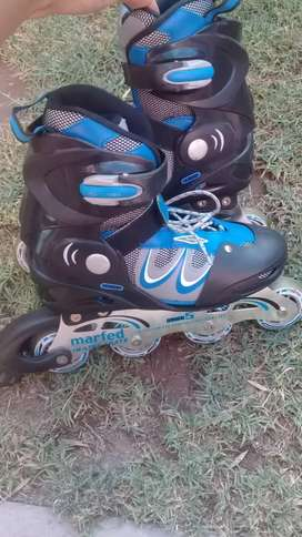 Rollers impecables!