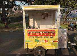 trailer para comida tipo foodtruck
