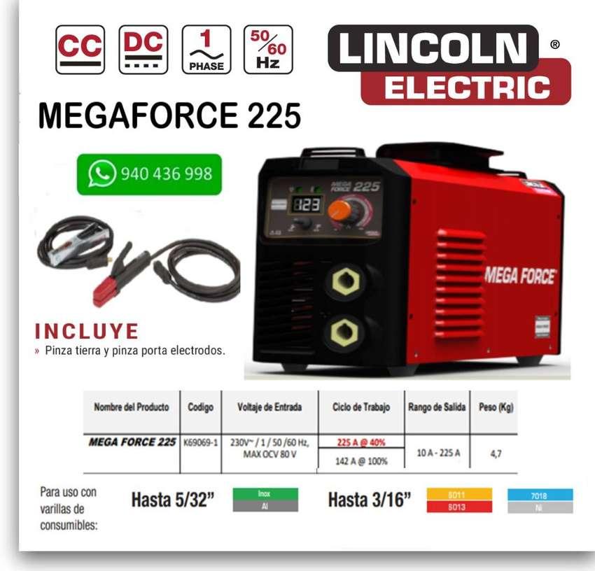 Maquina de Soldar Lincoln Electric Megaforce 225