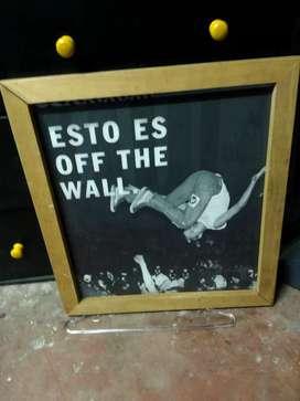 Cuadro de vans off the wall