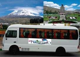 Alquilo Buseta H1 con Chofer Para Turismo a Nivel Nacional