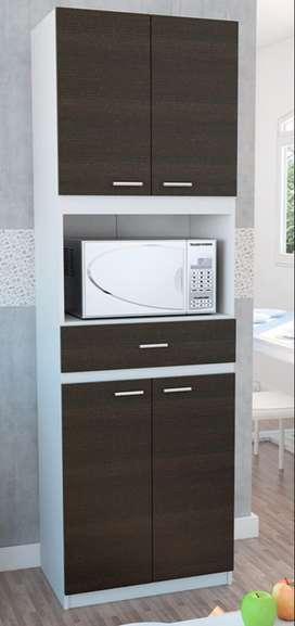 Mueble cocina para microondas