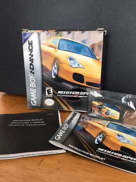 "Juego ""Need for Speed Porsche Unleashed"" Game Boy Advance"