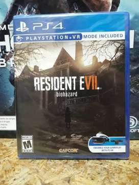 Resident Evil Biohazard Nuevos Sellados