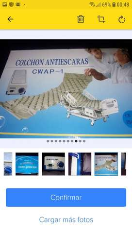 Vendo Colchón Anti-escaras-compresor Secuencial- Kit
