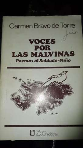 VOCES POR LAS MALVINAS (usado)