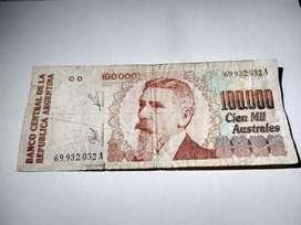Billete Argentino