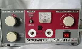 Generador de onda corta meditea electromedicina