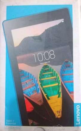 Tablet Lenovo Tab 3 7 con caja la dejo en 20.000