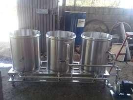 Realizamos plantas de cerveza artesanal