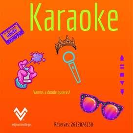 Alquiler Karaoke Mendoza
