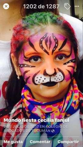 Maquillaje Artistico Fiestas