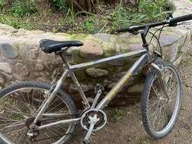 Bicicleta.