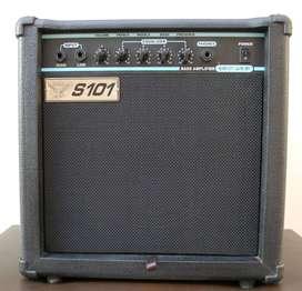 Amplificador S101 SED-25B de 25w para BAJO