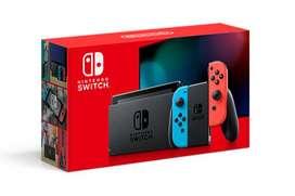 Nintendo Switch NUEVA version! De paquete, aceptamos tarjetas!