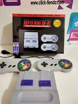 Super Nintendo Mini 500 juegos