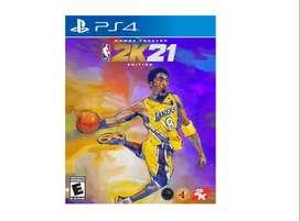Juego Playstation 4 Nba 2k21 Mamba For Ever Ps4