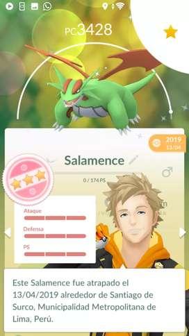 Pokémon GO variocolor 100, Legendarios 100 Perú
