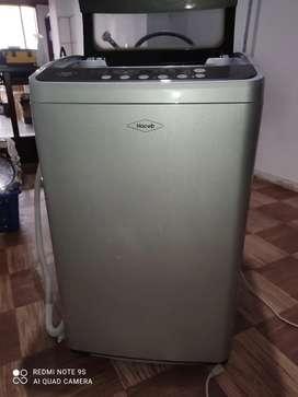 Vendo lavadora marca HACEB modelo DO850PL, 8,5 kilogramos/18,7 libras, panel digital, tiene tres años.