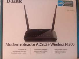 D'Link DSL 2740E Router Repetidor Puno