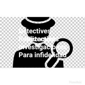 Detectives Duda De su pareja .